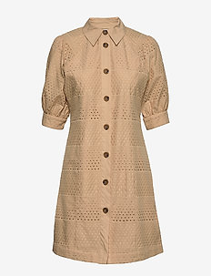 LR-ISALOUISE - shirt dresses - l109 - cuban sand