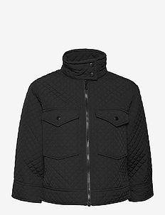 LR-MAGNOLIA - quilted jackets - l999 - black