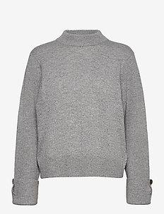 LR-FUNDA - trøjer - l9950 - light grey melange