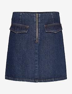 LR-JOSETTE - jeansowe spódnice - l623 - indigo denim