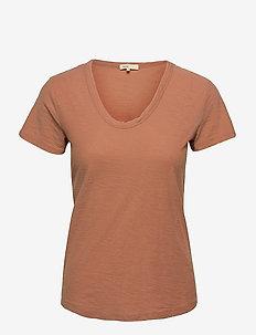 LR-ANY - t-shirt & tops - l827 - mocha mousse