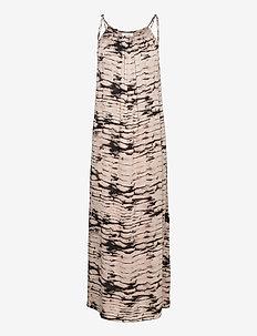 LR-NOELLE - summer dresses - l111c - antique white combi