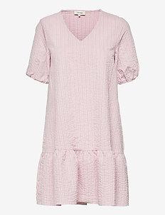 LR-NINA - summer dresses - l425c - pink mist combi