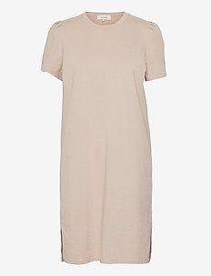 LR-ISOL - summer dresses - l117 - oxford tan