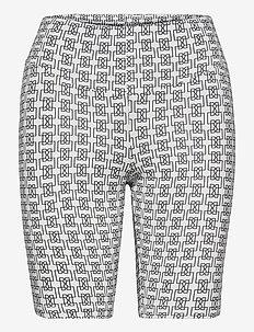 LR-NILJAS - cycling shorts - l100 - white