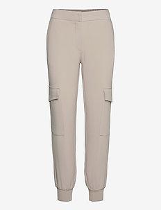 LR-HELENA - bukser med lige ben - l117 - oxford tan