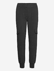 LR-HELENA - bukser med lige ben - l999 - black