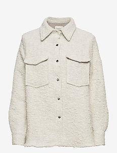 LR-KARIS - overshirts - l111c - antique white combi