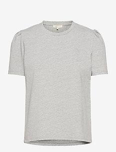 LR-ISOL - t-shirts - l9950 - light grey melange