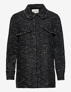 LR-KAMILLE - overshirts - l999c - black combi
