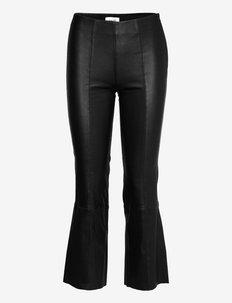 LR-GLORIA - pantalons en cuir - l999 - black