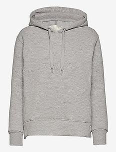 LR-NUKA - sweatshirts & hoodies - l9950 - light grey melange