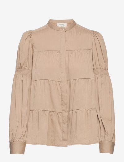 LR-ISLA SOLID - long sleeved blouses - l800 - tuffet