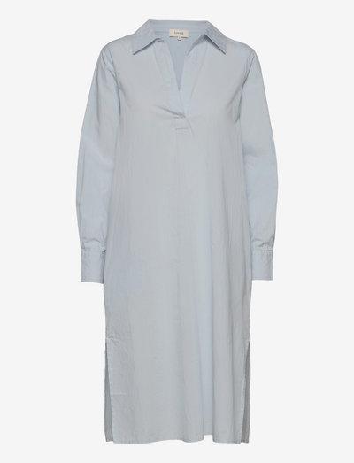 LR-OYA - summer dresses - l230 - gray dawn