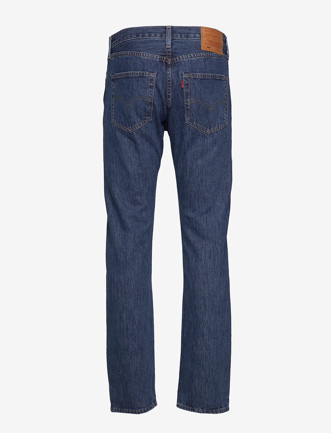 LEVI´S Men - 501 LEVISORIGINAL FIT STONEWASH - regular jeans - med indigo - flat finish - 1