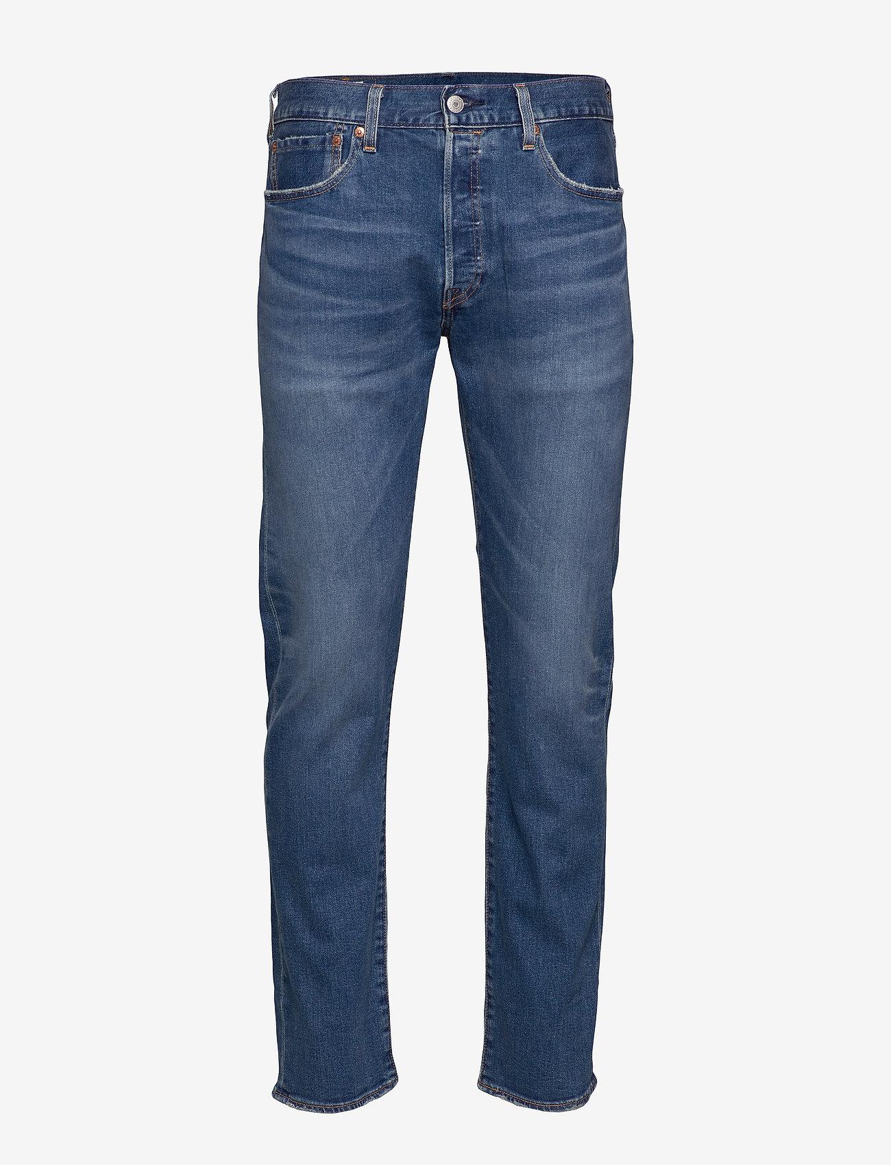 LEVI´S Men - 501 LEVISORIGINAL KEY WEST SKY - regular jeans - dark indigo - flat finish - 1