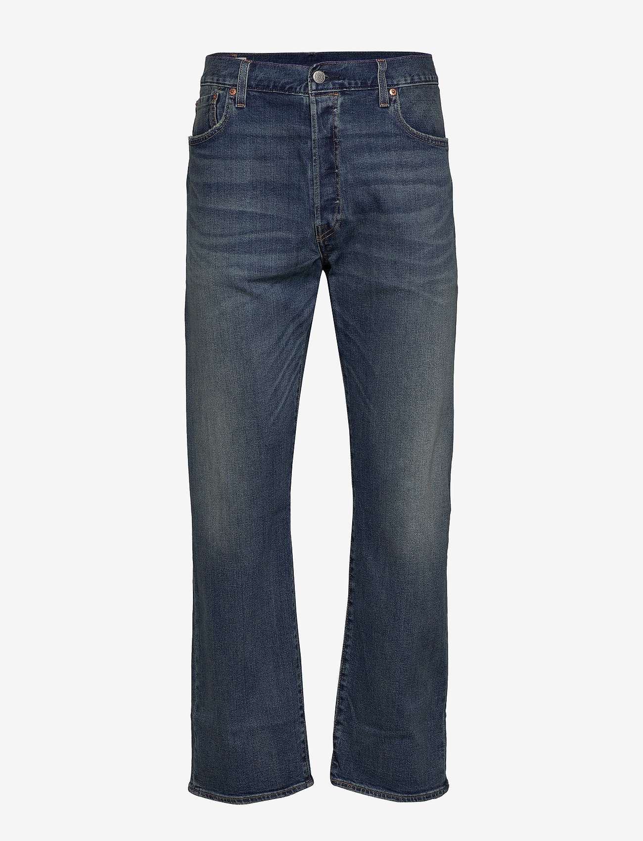 LEVI´S Men - 501 LEVISORIGINAL CANDY PAINT - regular jeans - med indigo - worn in - 0