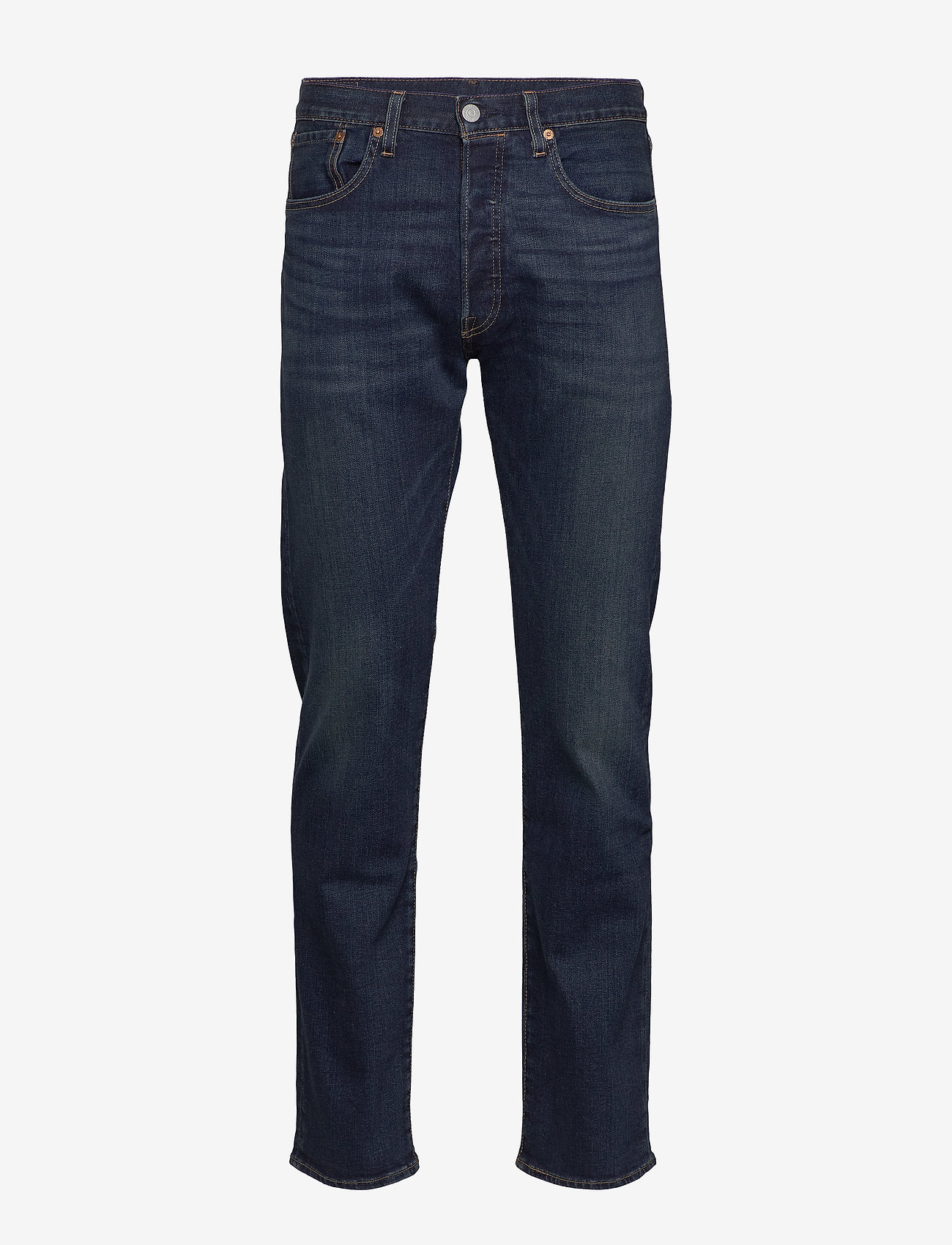 LEVI´S Men - 501 LEVISORIGINAL BLOCK CRUSHE - regular jeans - dark indigo - worn in - 0