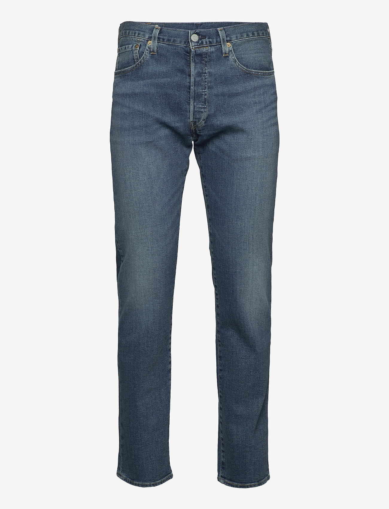 LEVI´S Men - 501 LEVISORIGINAL UBBLES - relaxed jeans - med indigo - worn in - 0