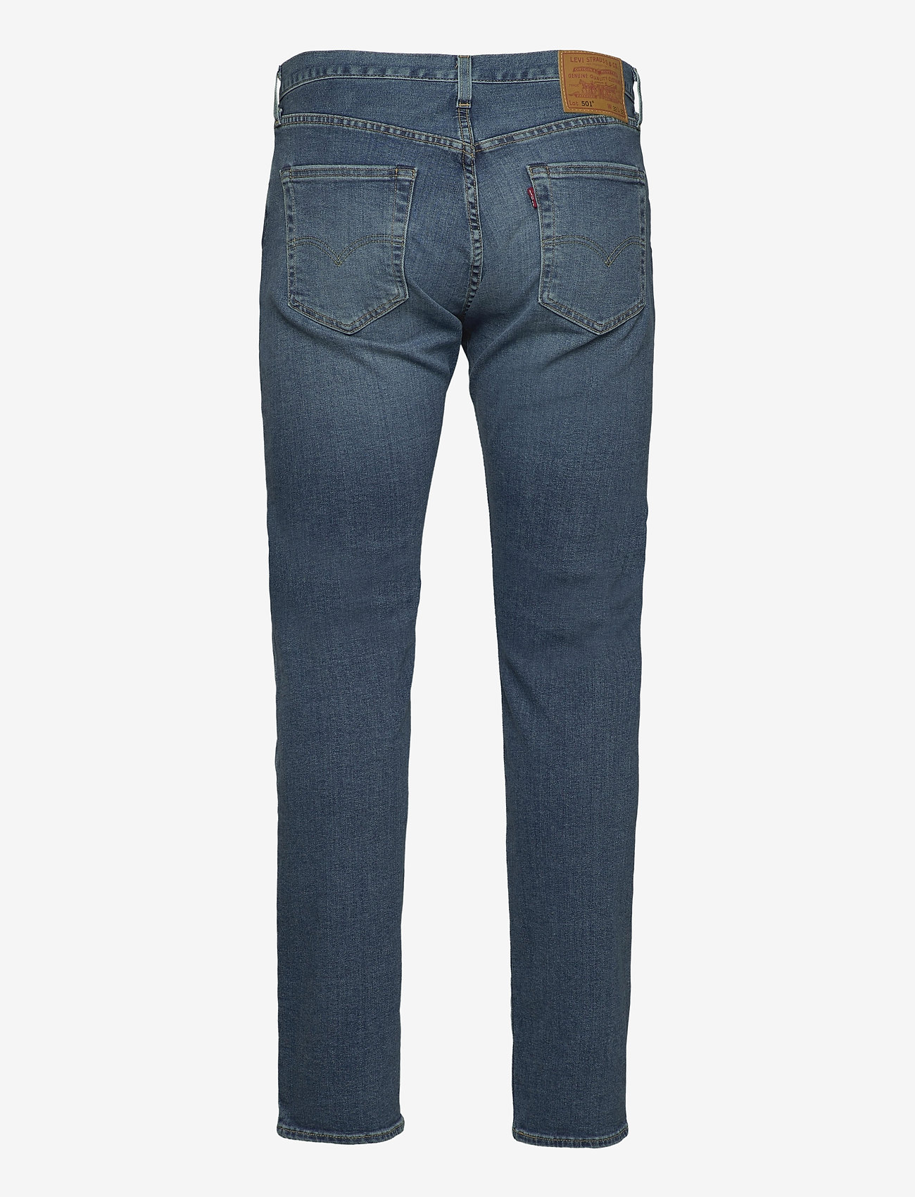 LEVI´S Men - 501 LEVISORIGINAL UBBLES - relaxed jeans - med indigo - worn in - 1