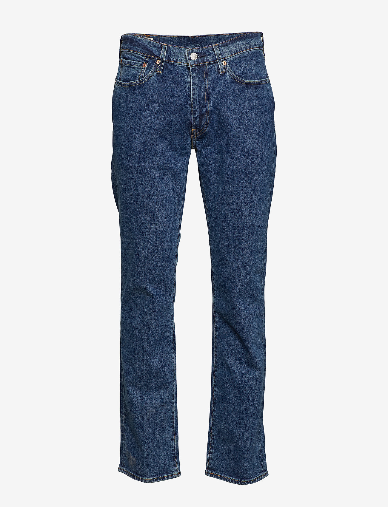 LEVI´S Men - 514 STRAIGHT STONEWASH STRETCH - regular jeans - med indigo - flat finish - 1