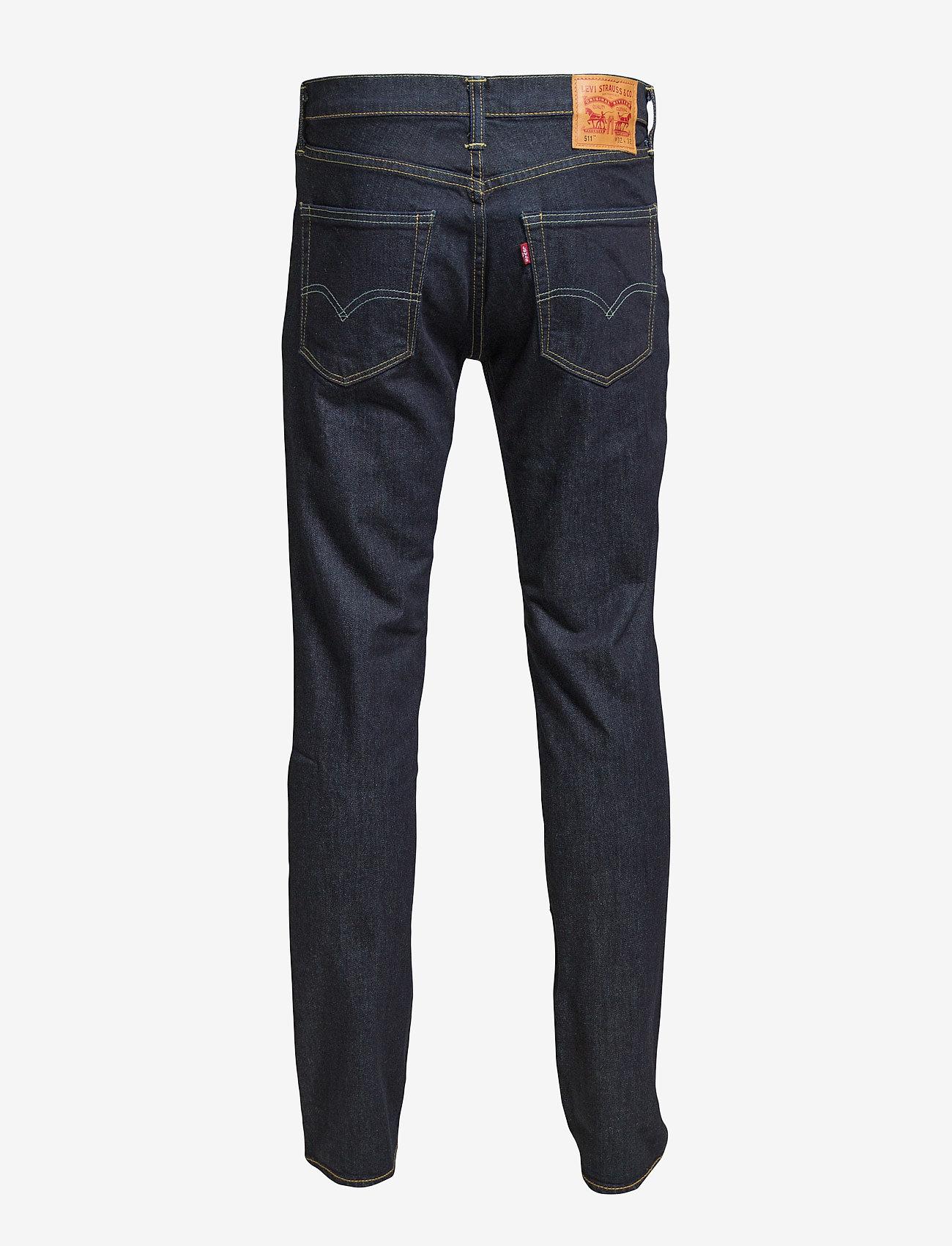 LEVI´S Men - 511 SLIM ROCK COD - džinsa bikses ar tievām starām - dark indigo - flat finish - 1