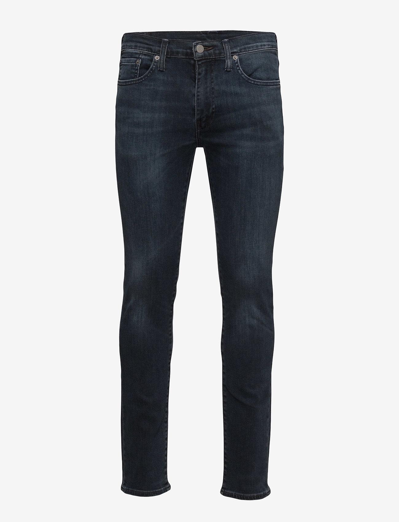 LEVI´S Men - 511 SLIM FIT HEADED SOUTH - džinsa bikses ar tievām starām - dark indigo - worn in - 1