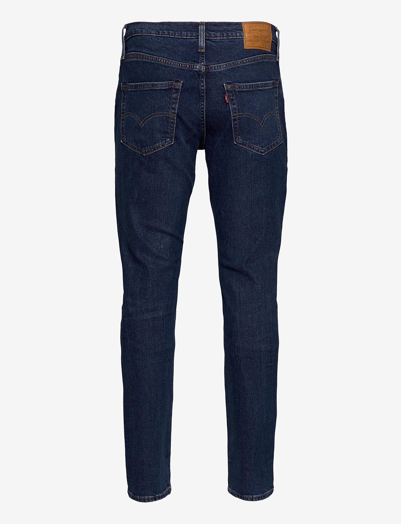 LEVI´S Men - 511 SLIM PONCHO AND RIGHTY ADV - slim jeans - dark indigo - worn in - 1
