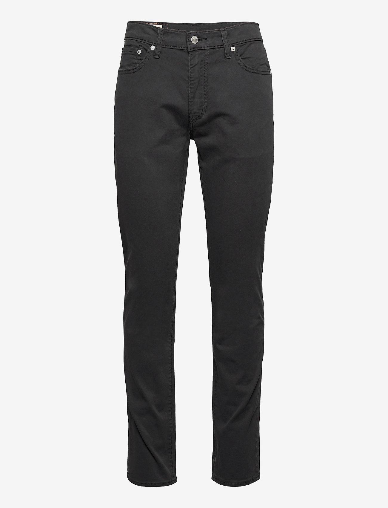 LEVI´S Men - 511 SLIM CAVIAR SUEDED SATEEN - slim jeans - blacks - 0