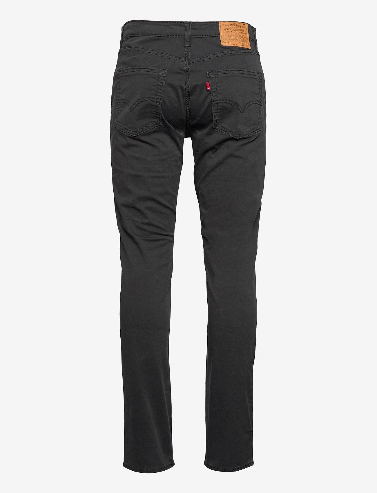 LEVI´S Men - 511 SLIM CAVIAR SUEDED SATEEN - slim jeans - blacks - 1