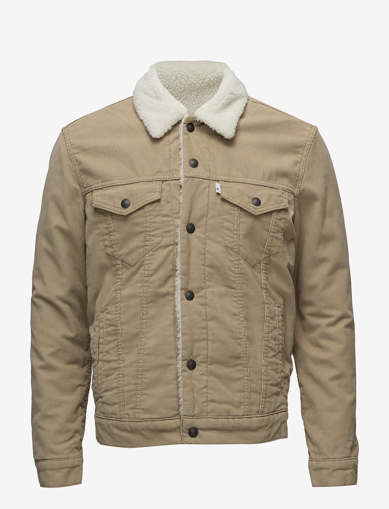 LEVI´S Men - TYPE 3 SHERPA TRUCKER TRUE CHI - denim jackets - neutrals - 0