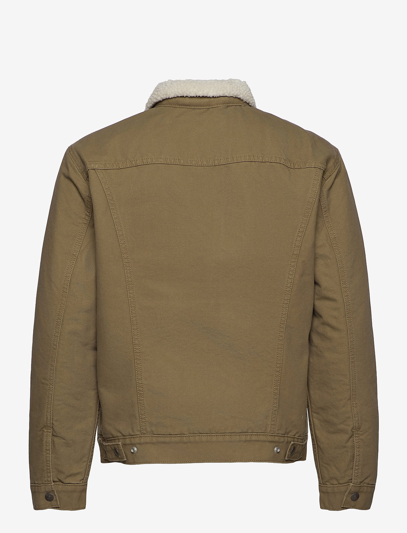 LEVI´S Men - TYPE 3 SHERPA TRUCKER COUGAR C - jeansjackor - neutrals - 1