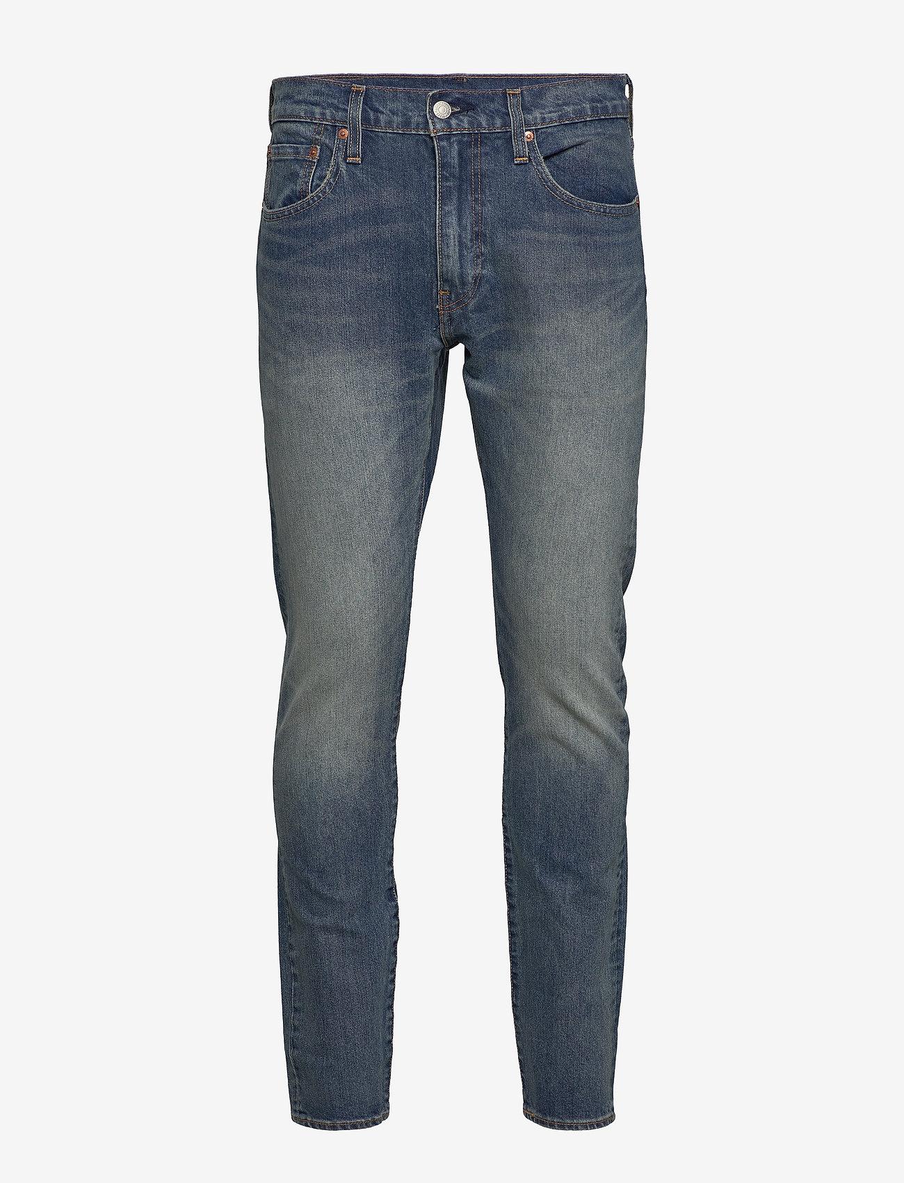 LEVI´S Men - 512 SLIM TAPER YELL AND SHOUT - slim jeans - dark indigo - worn in - 0