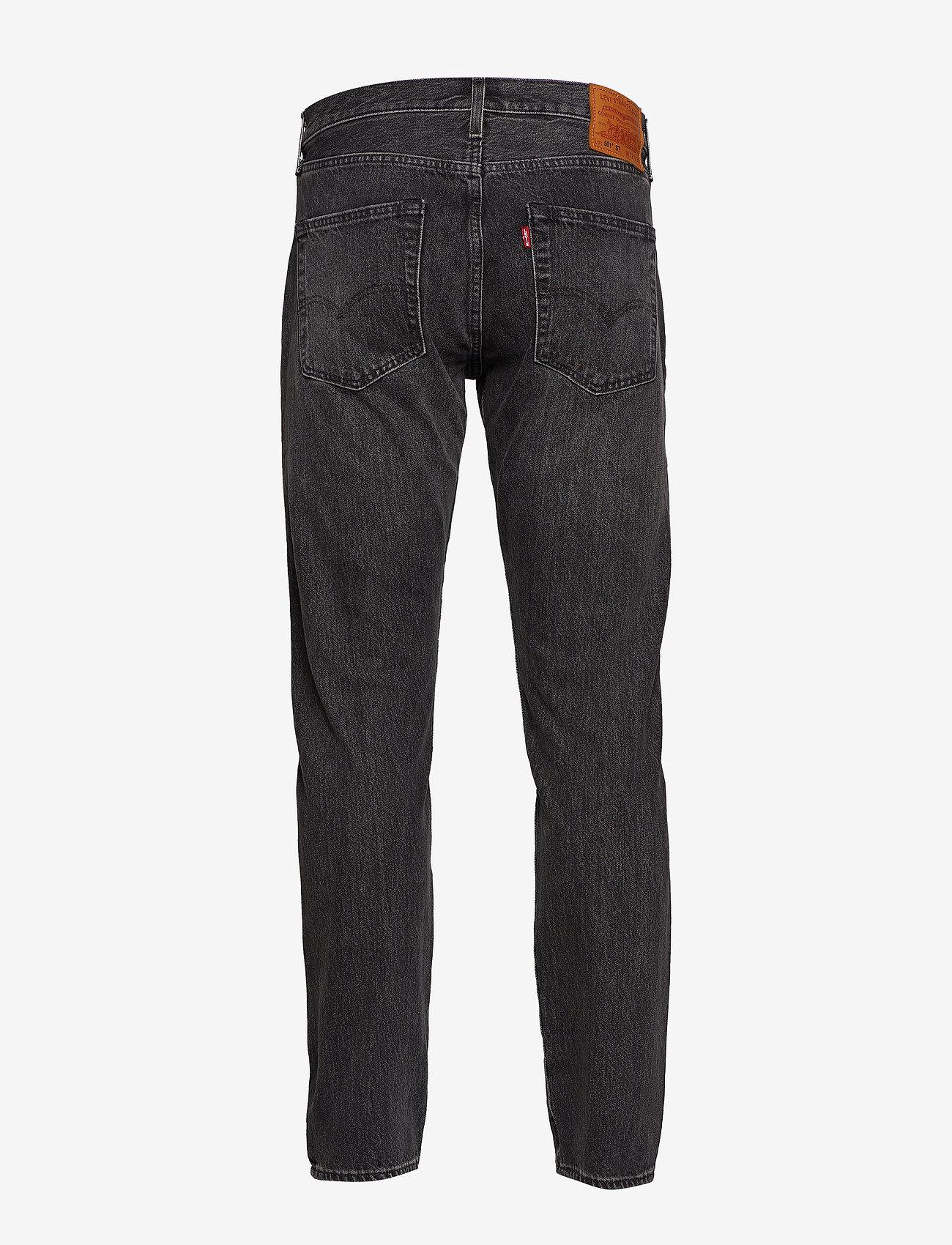 LEVI´S Men - 501 SLIM TAPER JUST GREY - regular jeans - greys