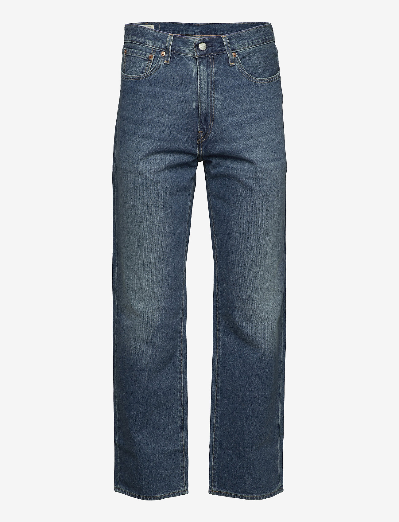 LEVI´S Men - STAY LOOSE DENIM EYED HOOK - relaxed jeans - med indigo - worn in - 0