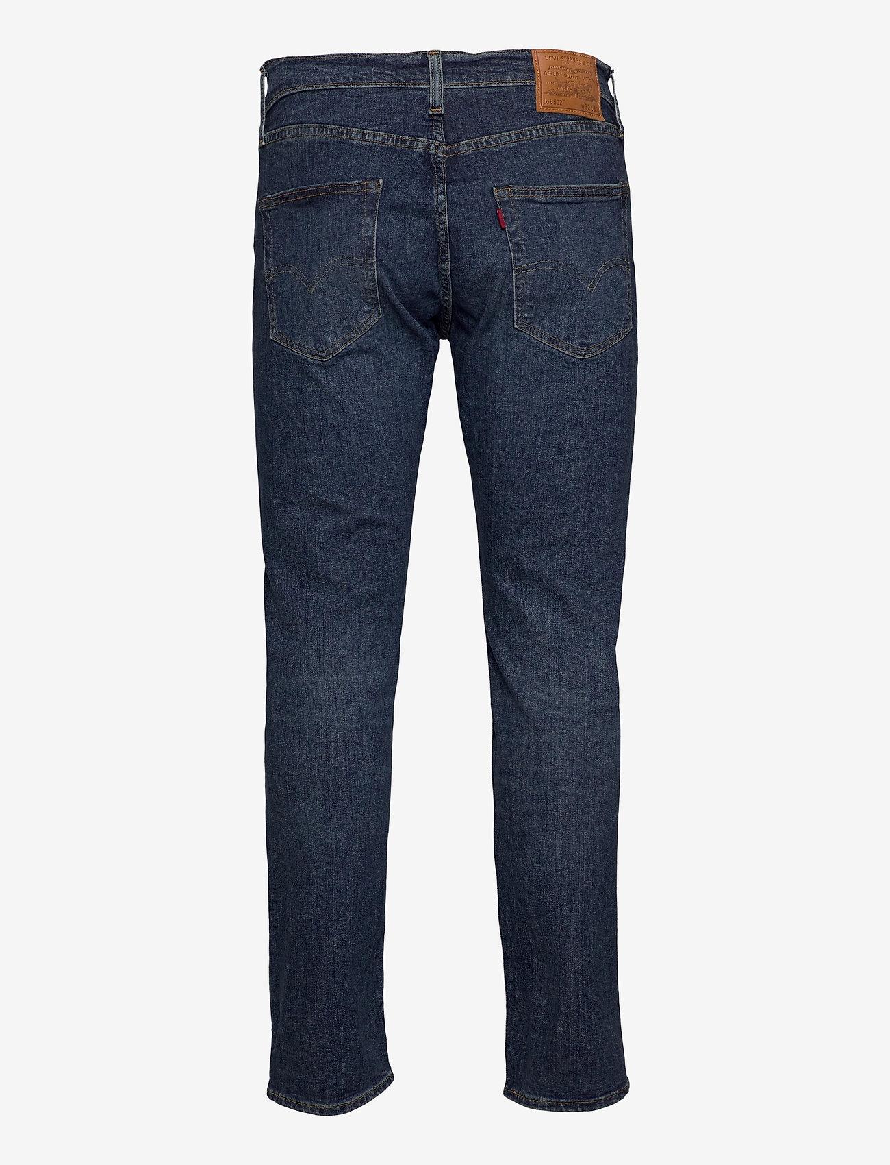 LEVI´S Men - 502 TAPER WAGYU MOSS - tapered jeans - dark indigo - worn in - 2