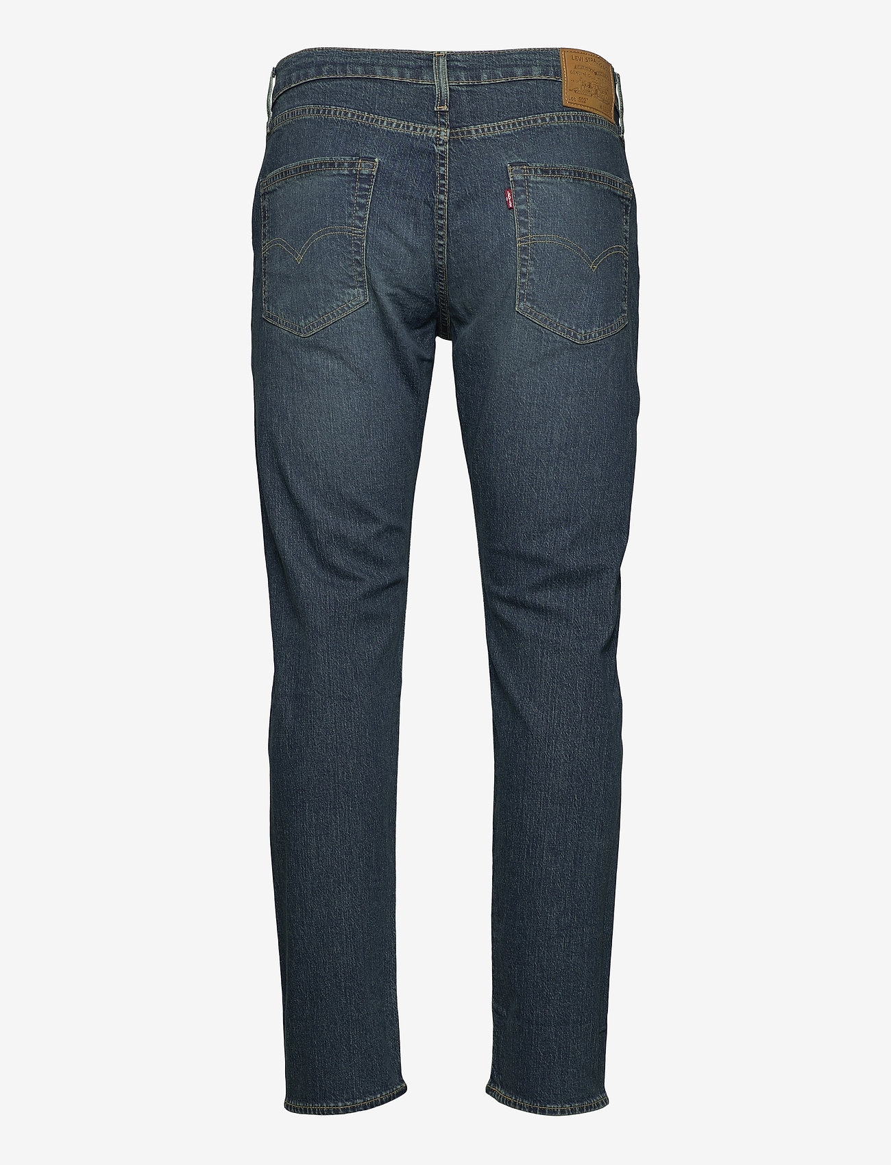 LEVI´S Men - 502 TAPER EAZY SHOCK GREEN - regular jeans - dark indigo - worn in - 1