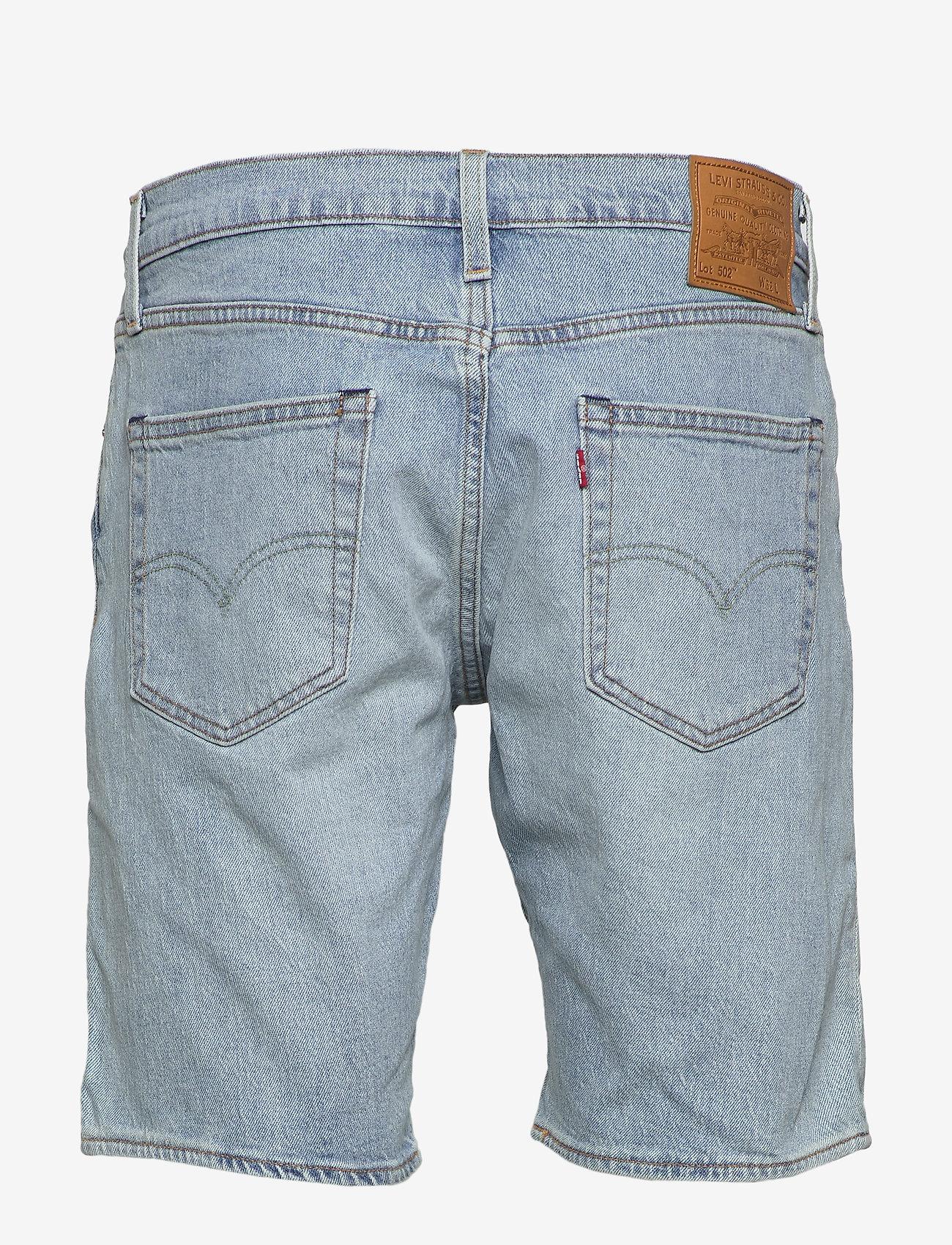 LEVI´S Men - 502 TAPER SHORTS 10 TOAST SHOR - denim shorts - light indigo - worn in - 1