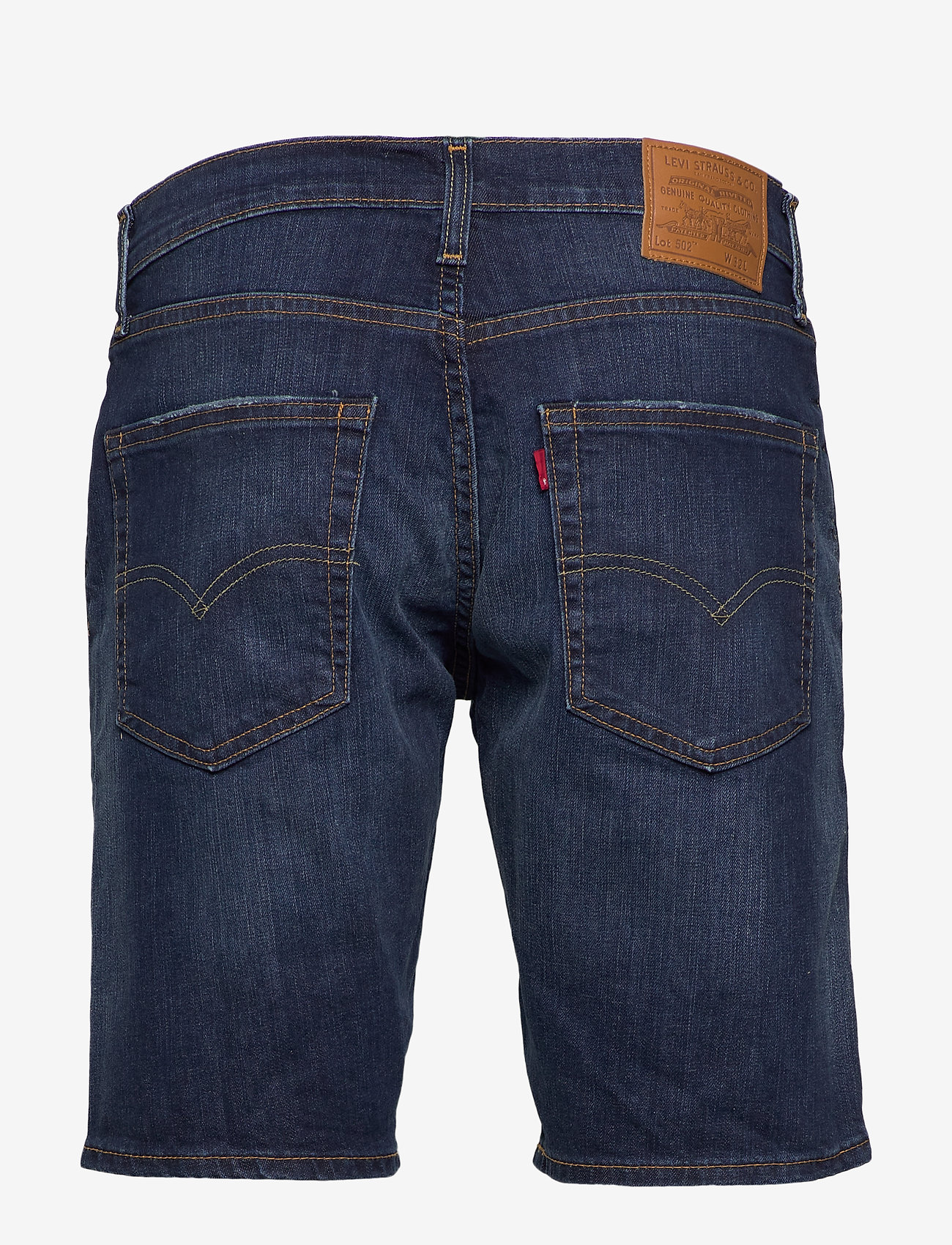 LEVI´S Men - 502 TAPER SHORTS 10 RAINSHOWER - denim shorts - dark indigo - worn in - 1