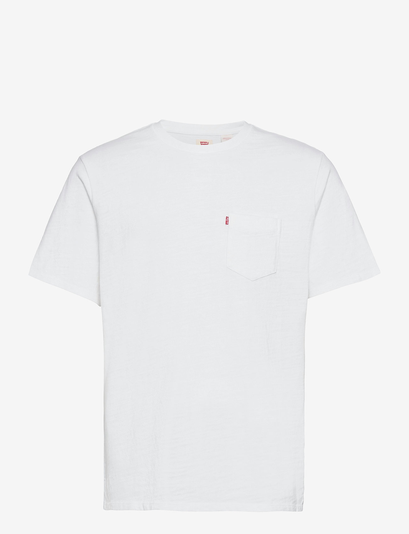 LEVI´S Men - RELAXED FIT POCKET TEE WHITE + - basic t-shirts - neutrals - 0