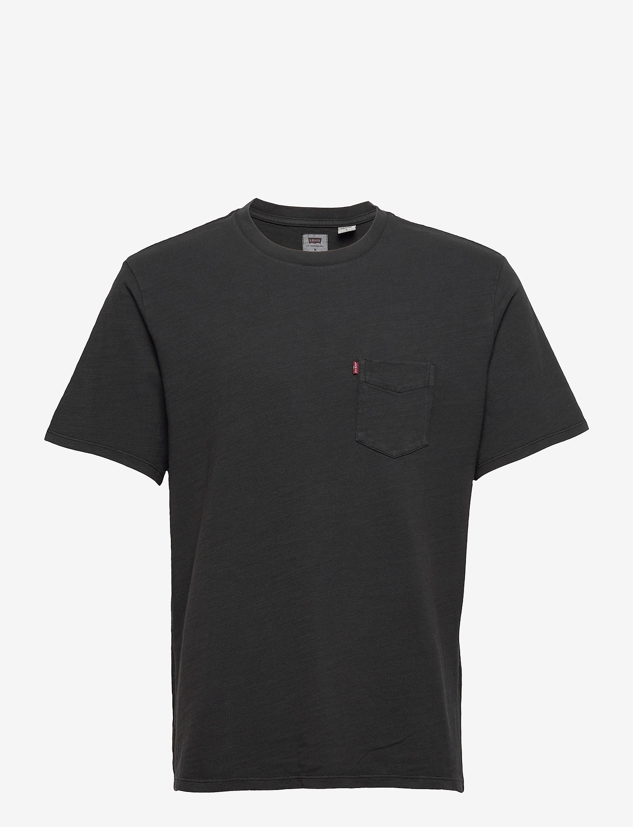 LEVI´S Men - RELAXED FIT POCKET TEE GARMENT - podstawowe koszulki - blacks - 0