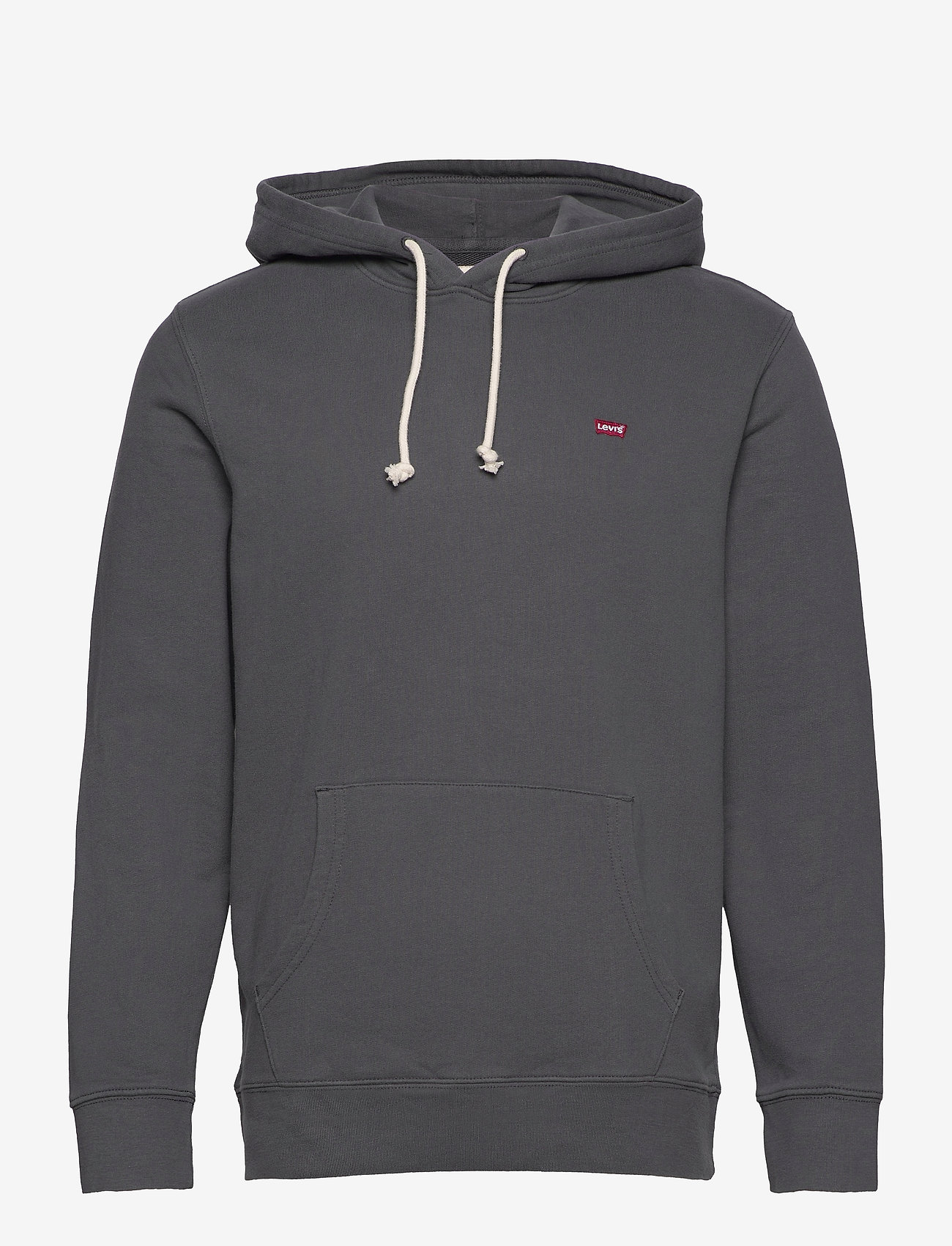 LEVI´S Men - NEW ORIGINAL HOODIE GRAY ORE - basic sweatshirts - greys - 0