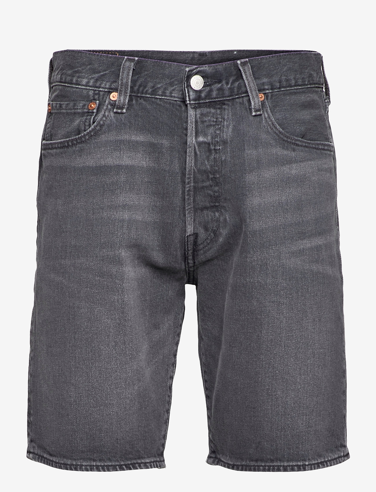 LEVI´S Men - 501 HEMMED SHORT ITS NOT TIME - jeansowe szorty - blacks - 0