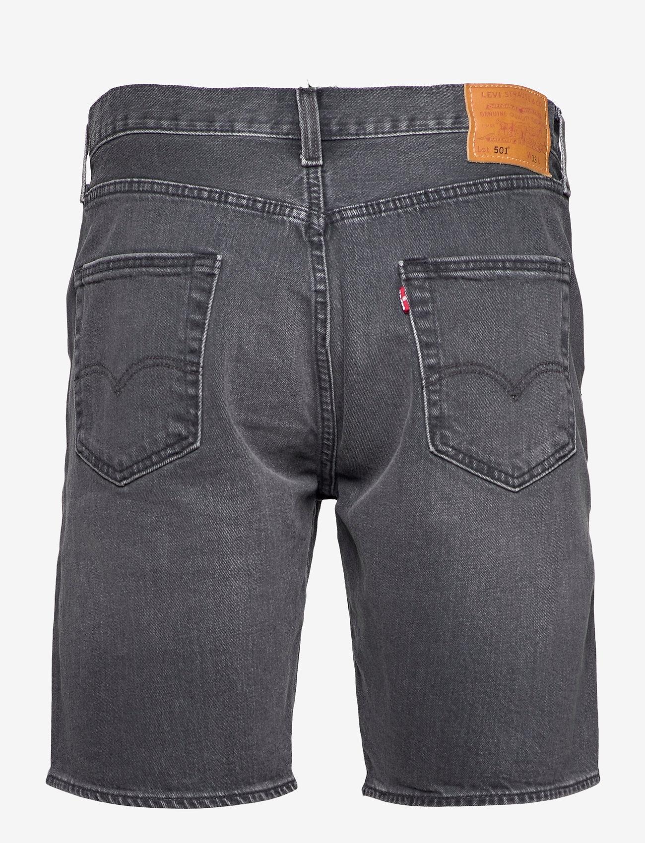 LEVI´S Men - 501 HEMMED SHORT ITS NOT TIME - jeansowe szorty - blacks - 1
