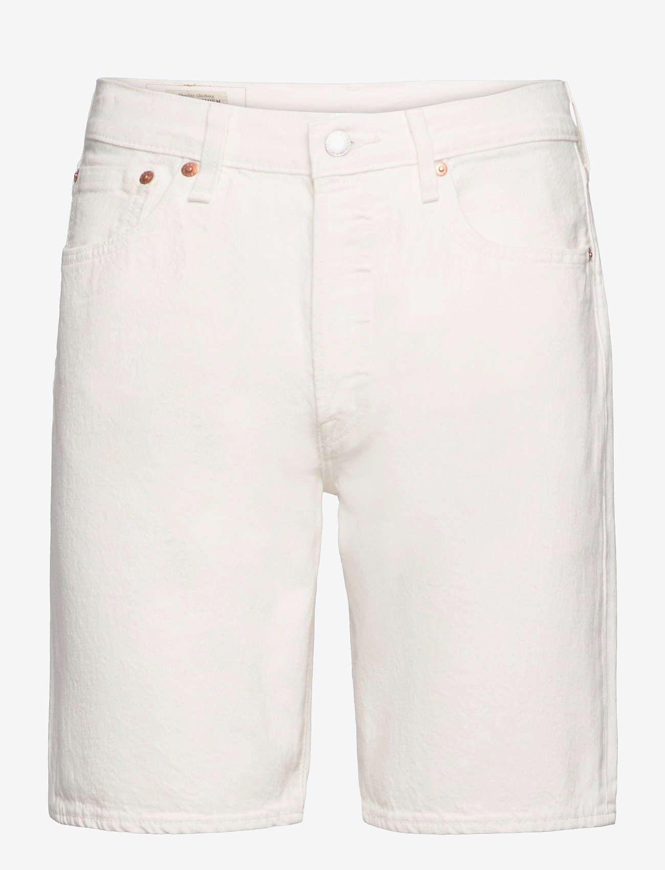 LEVI´S Men - 501 HEMMED SHORT MARSHMALLOW S - denim shorts - neutrals - 0