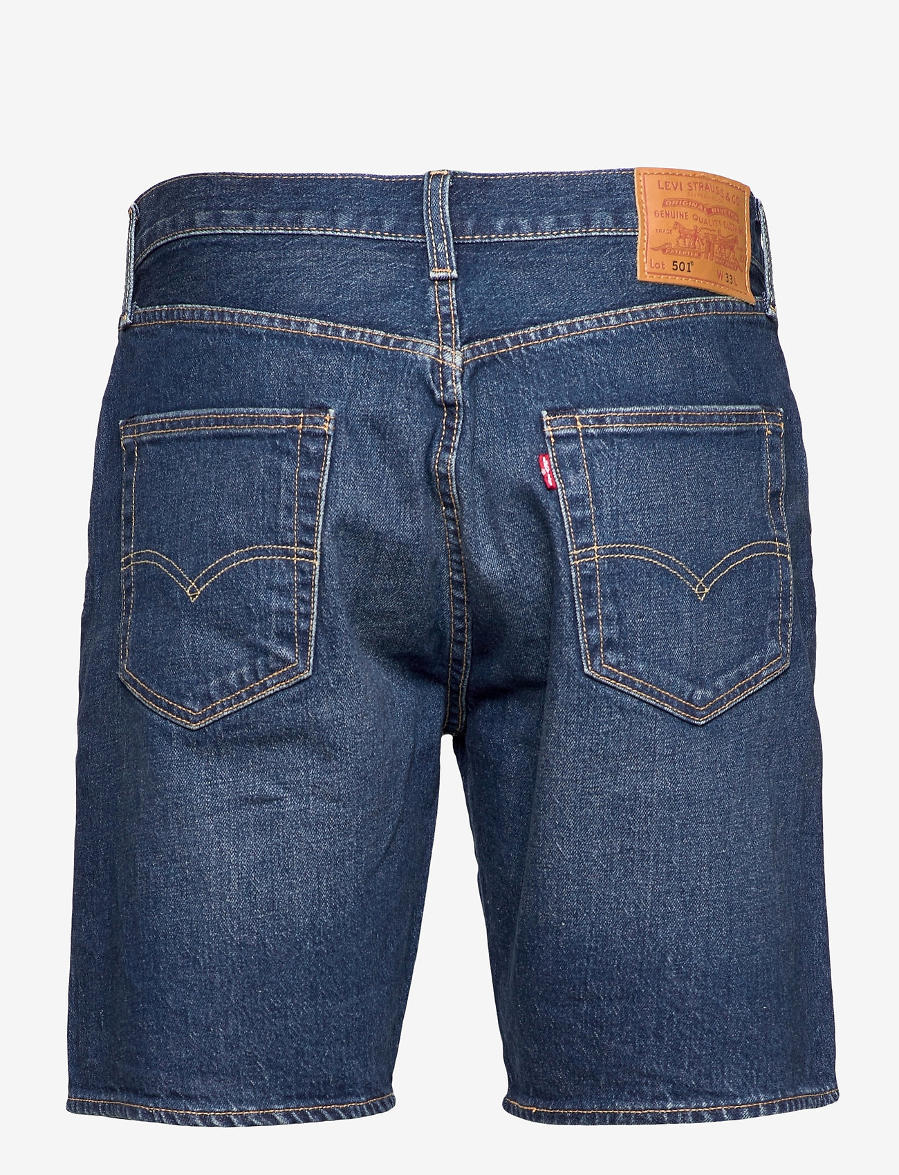 LEVI´S Men - 501 HEMMED SHORT FIRE GOIN SHO - jeansowe szorty - med indigo - flat finish - 1