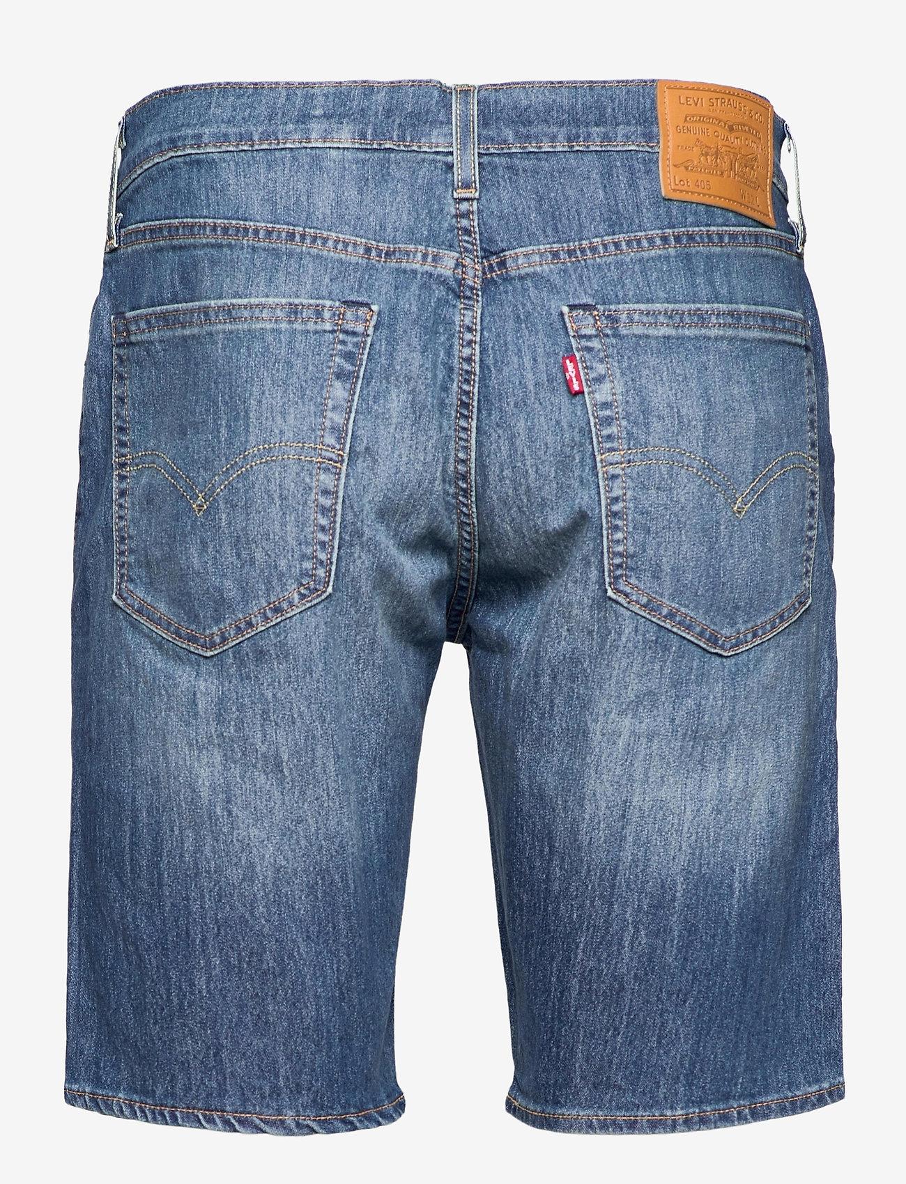 LEVI´S Men - 405 STANDARD SHORT BOOM BOOM C - jeansowe szorty - med indigo - worn in - 1