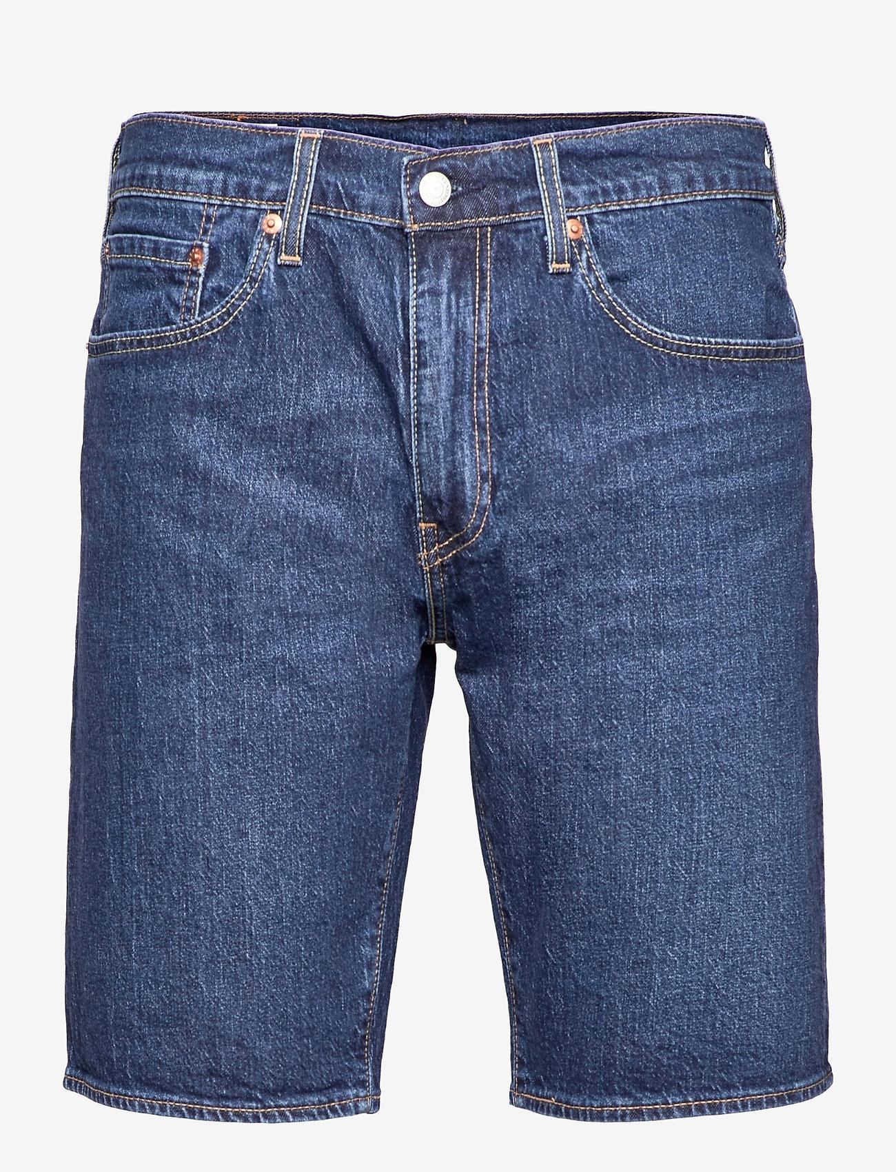 LEVI´S Men - 405 STANDARD SHORT DANCE FLOOR - jeansowe szorty - med indigo - flat finish - 0