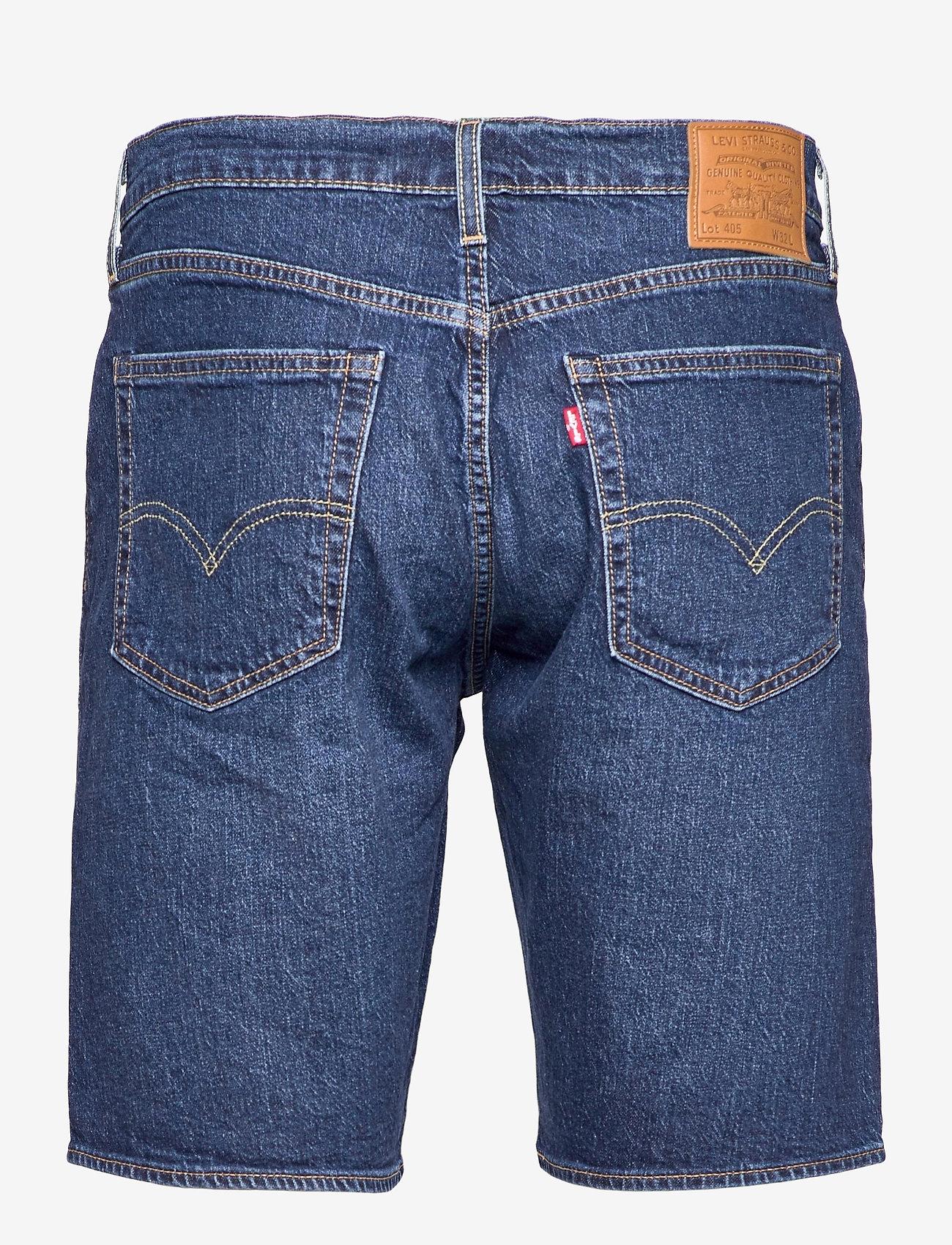 LEVI´S Men - 405 STANDARD SHORT DANCE FLOOR - jeansowe szorty - med indigo - flat finish - 1