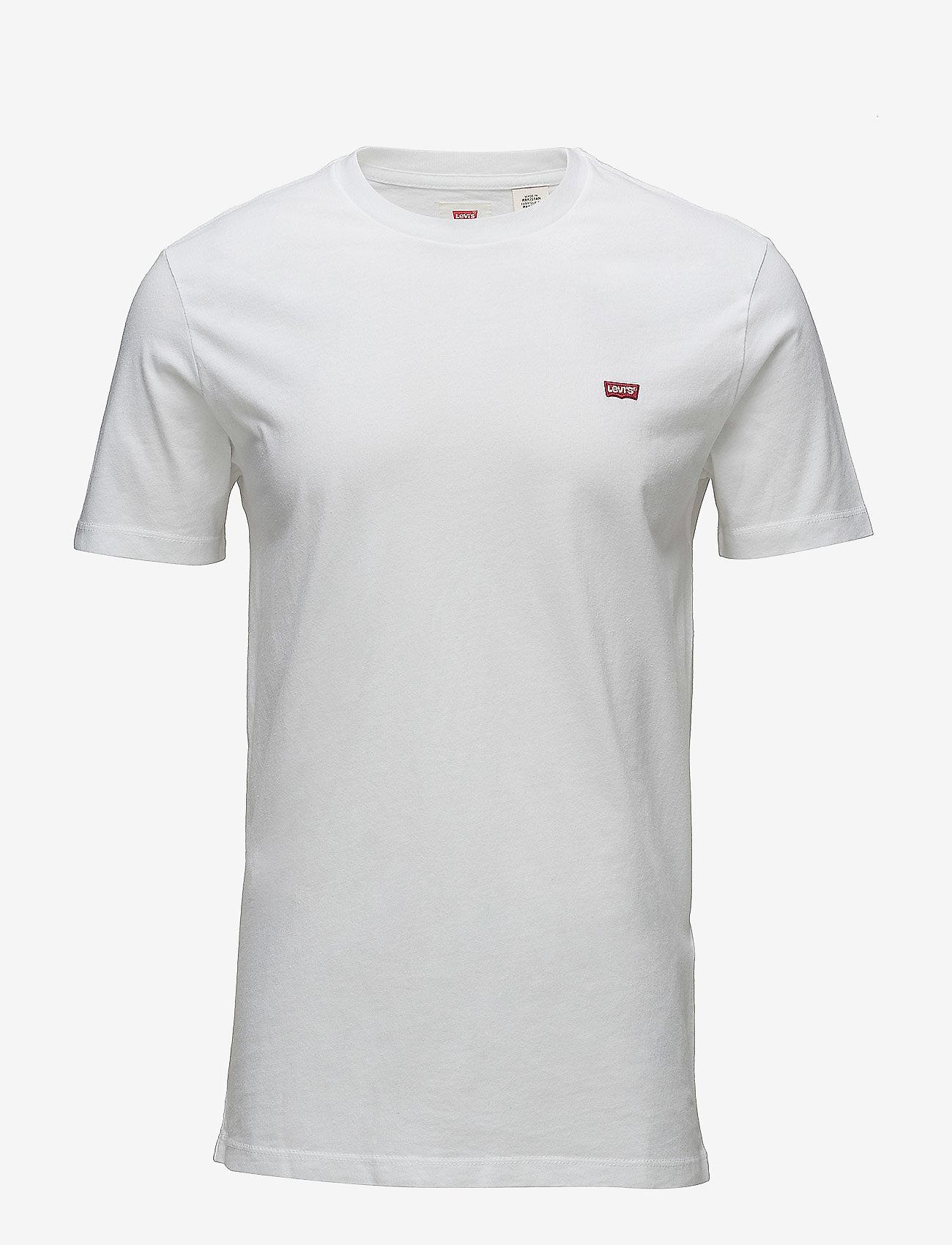 LEVI´S Men - SS ORIGINAL HM TEE COTTON + PA - basic t-shirts - cotton + patch wh - 0